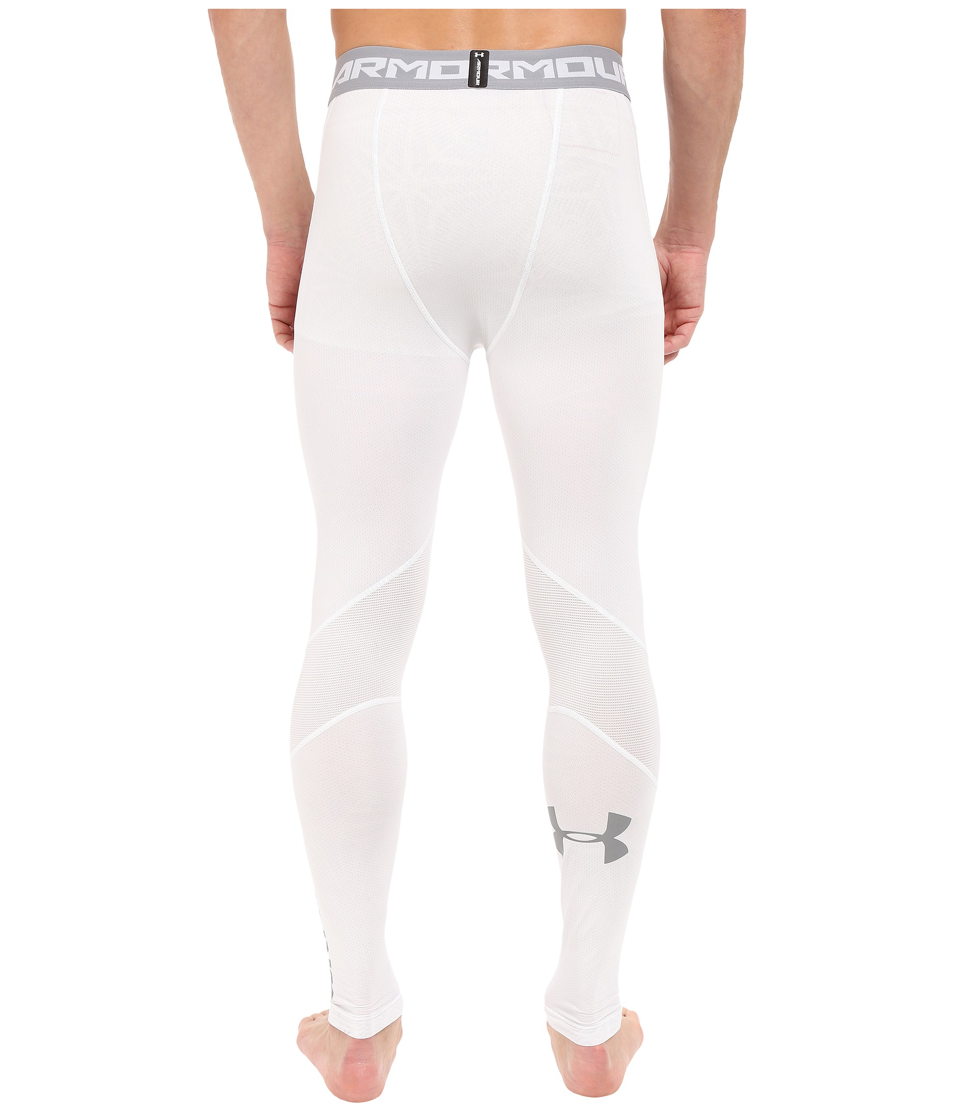 06293010a6069 Under Armour Ua Heatgear® Coolswitch Compression Leggings in White for Men  - Lyst