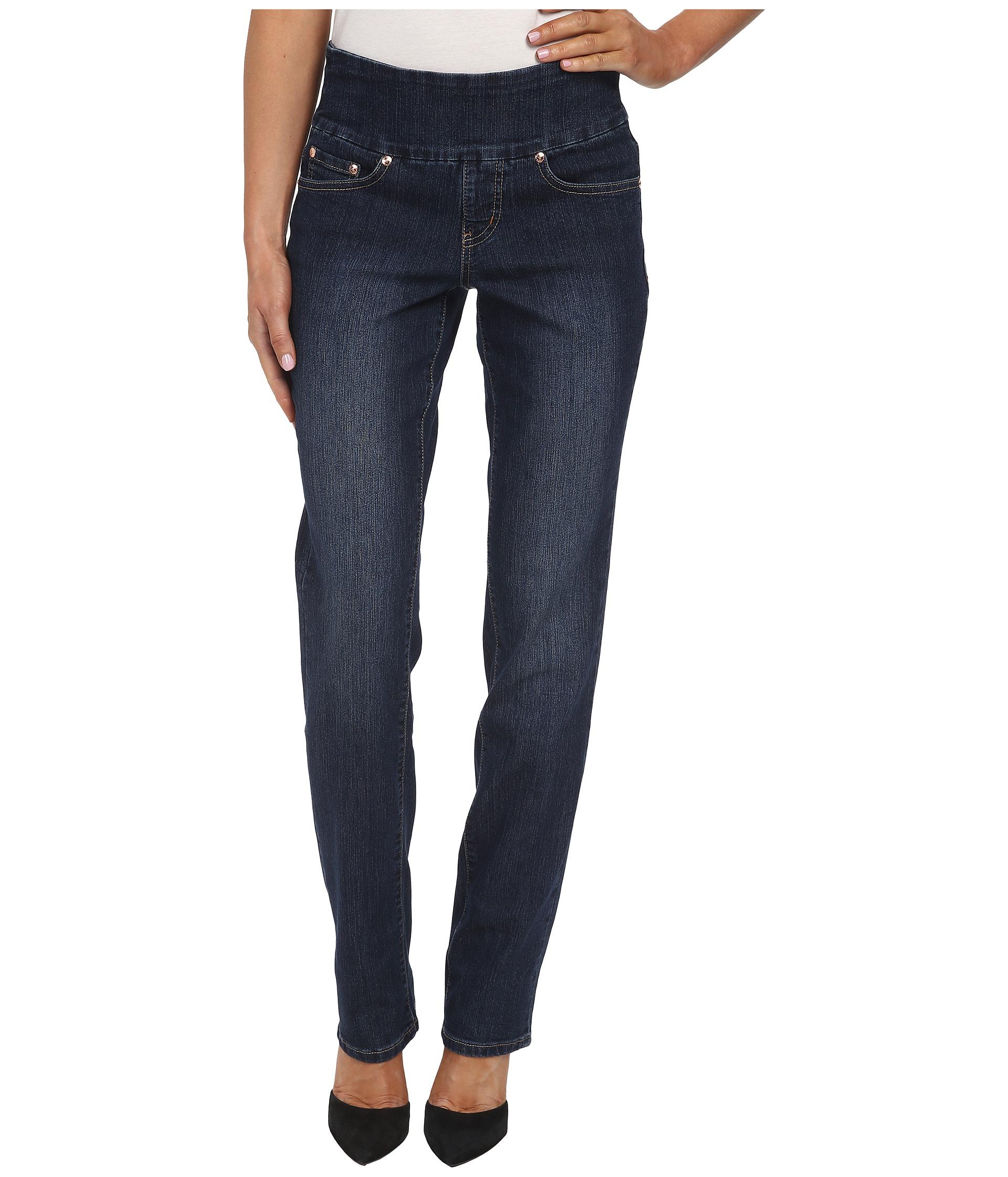 Jag jeans Peri Pull-On Straight Leg In Blue Shadow in Blue (Blue Shadow)   Lyst