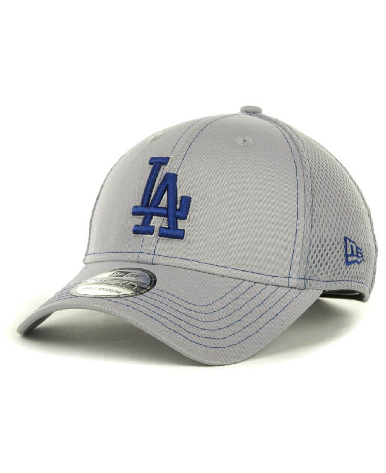 quality design 940ac d4ee3 ... discount code for lyst ktz los angeles dodgers gray neo 39thirty cap in  gray for men