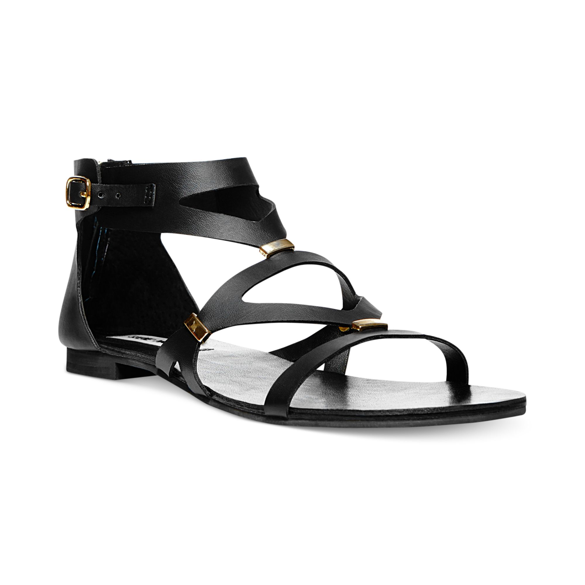Innovative  Sandals  Albano  Albano Lanval Black Suede Women39s Flat Sandal