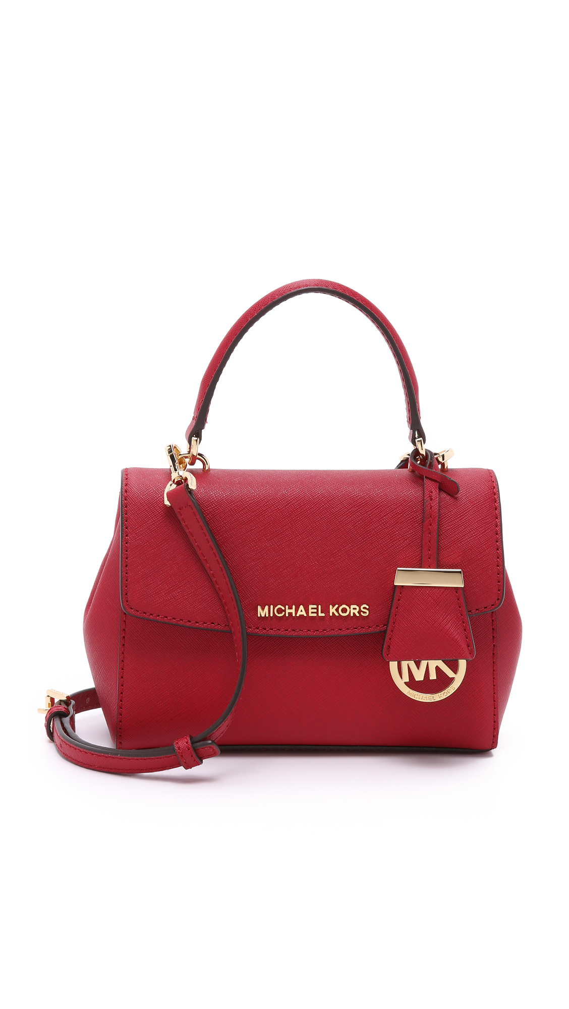 7005a781198d MICHAEL Michael Kors Ava Extra Small Cross Body Bag - Cherry in Red ...