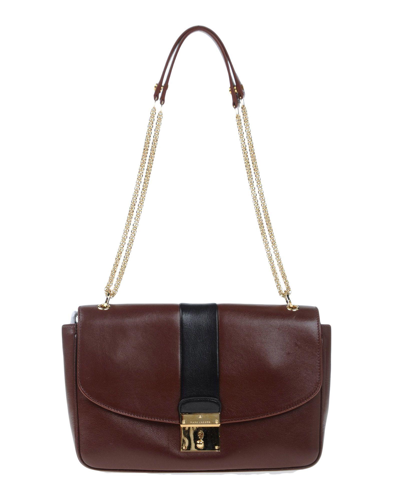 Lyst Marc Jacobs Shoulder Bag In Brown