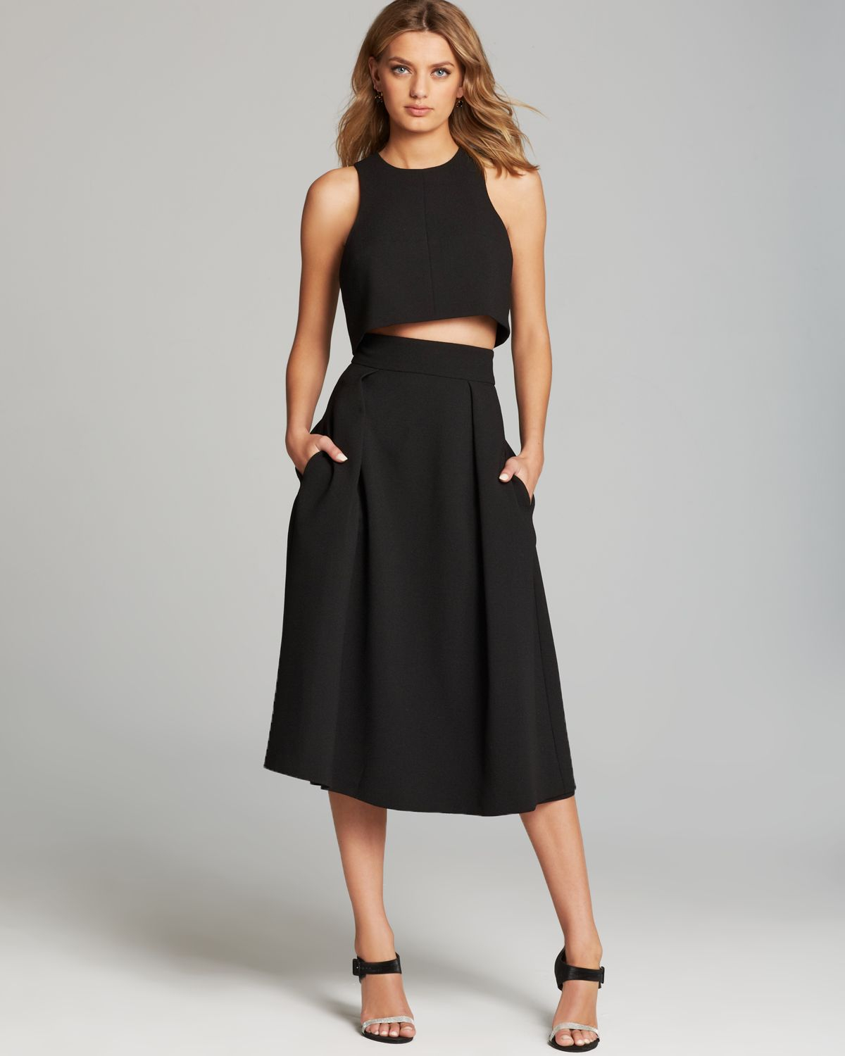 Black halo Dress - Sanibel Two Piece in Black | Lyst
