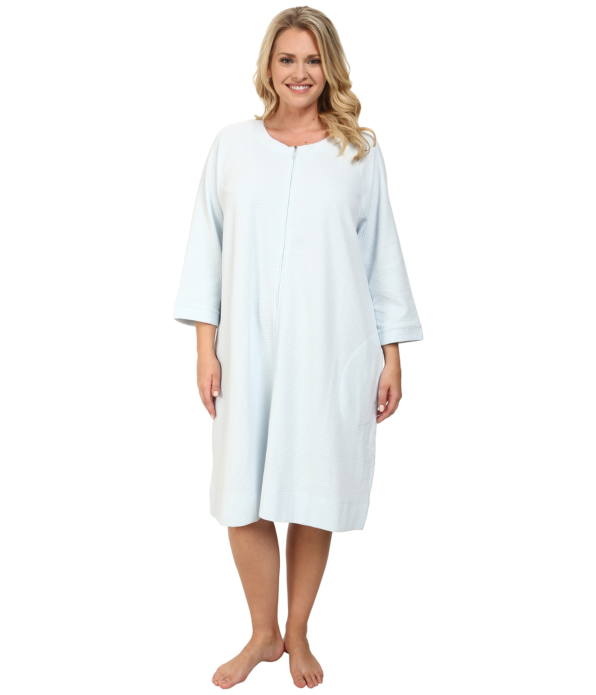 plus size robes with zipper - Anta.expocoaching.co