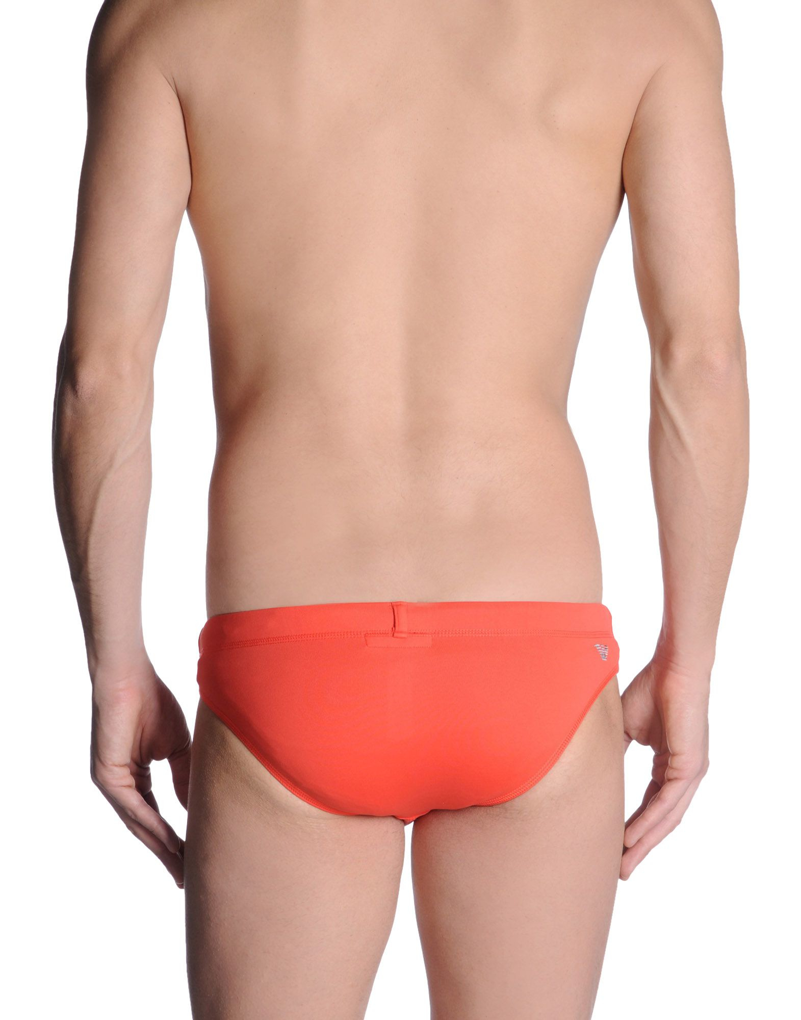 emporio armani bikini bottoms in pink for men coral lyst. Black Bedroom Furniture Sets. Home Design Ideas
