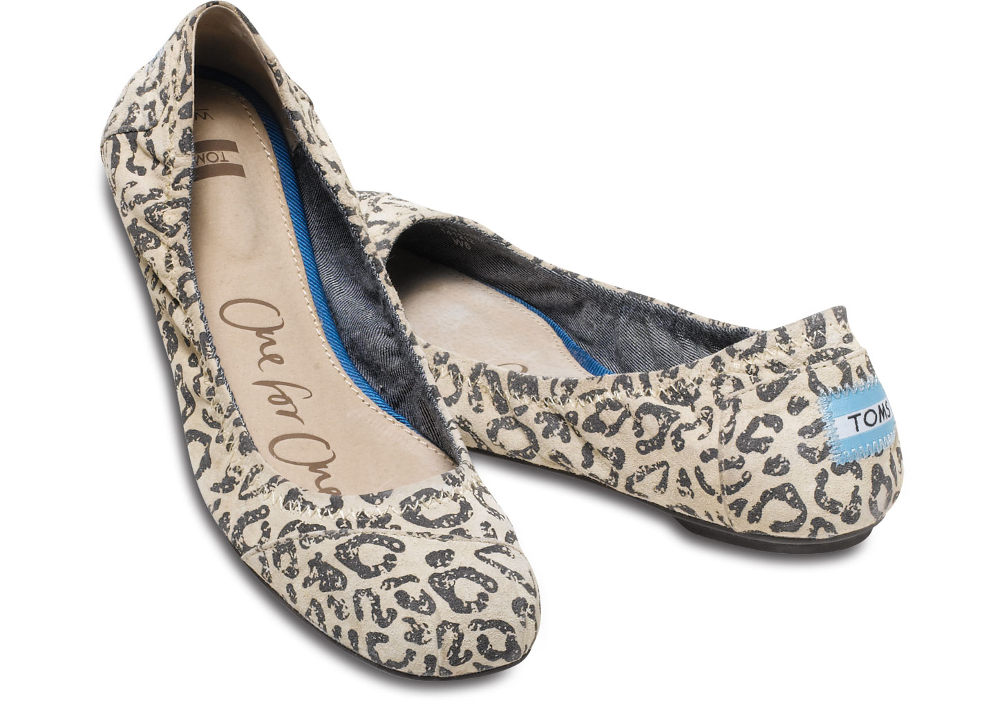 c1e027938 TOMS Brown Gisele Suede Women's Ballet Flats in Brown - Lyst