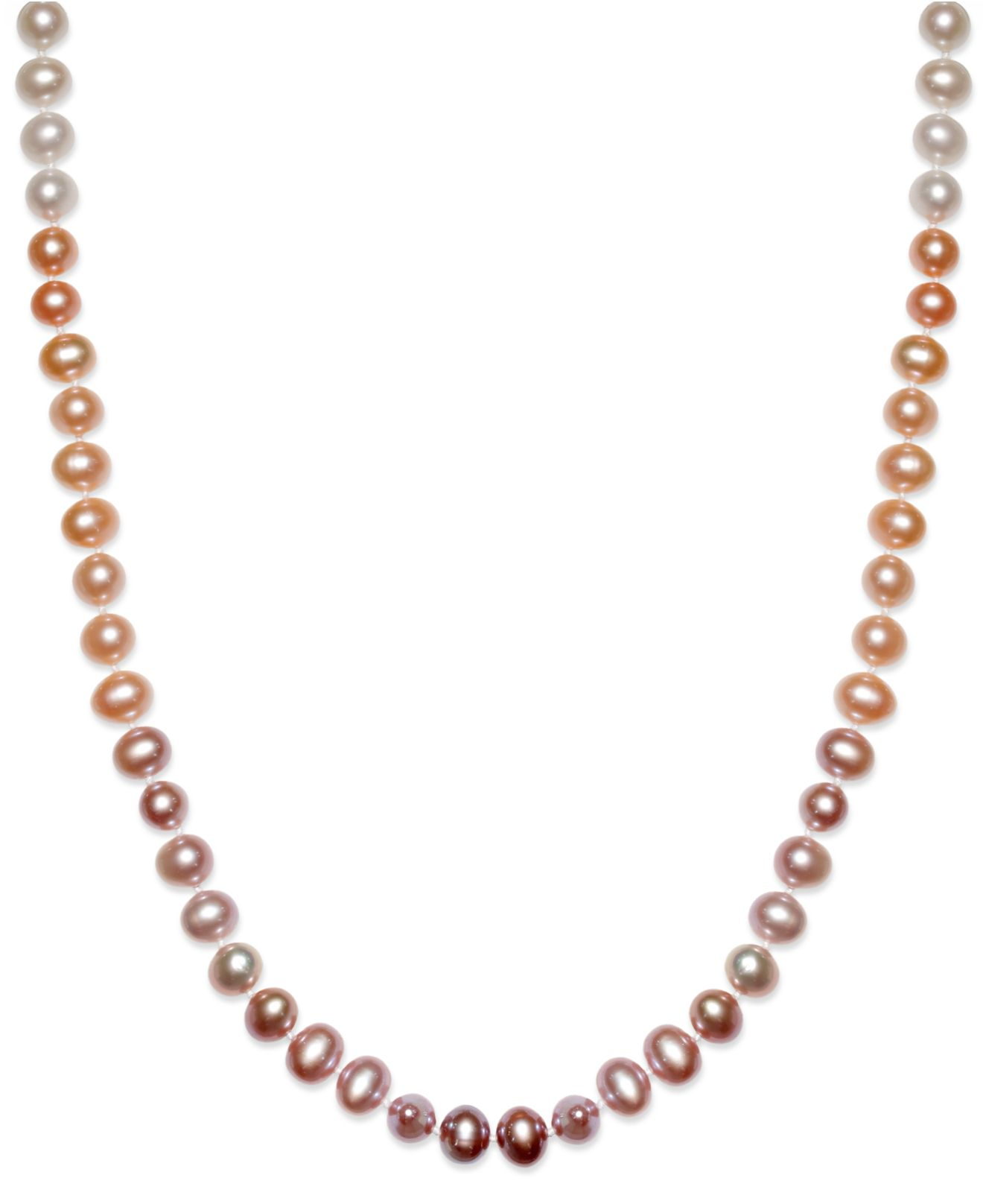 Multi Colored Freshwater Pearl Necklace