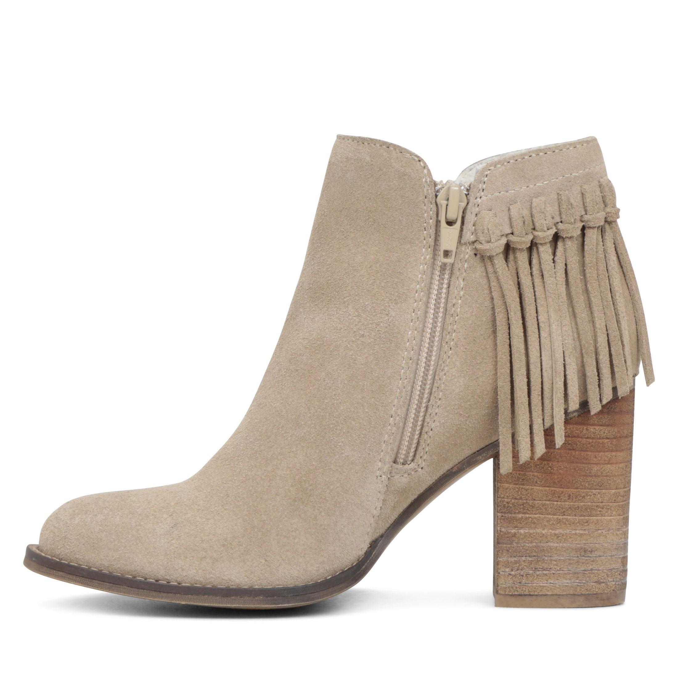 Aldo Casalnuoyo Fringe Ankle Boots in Brown | Lyst