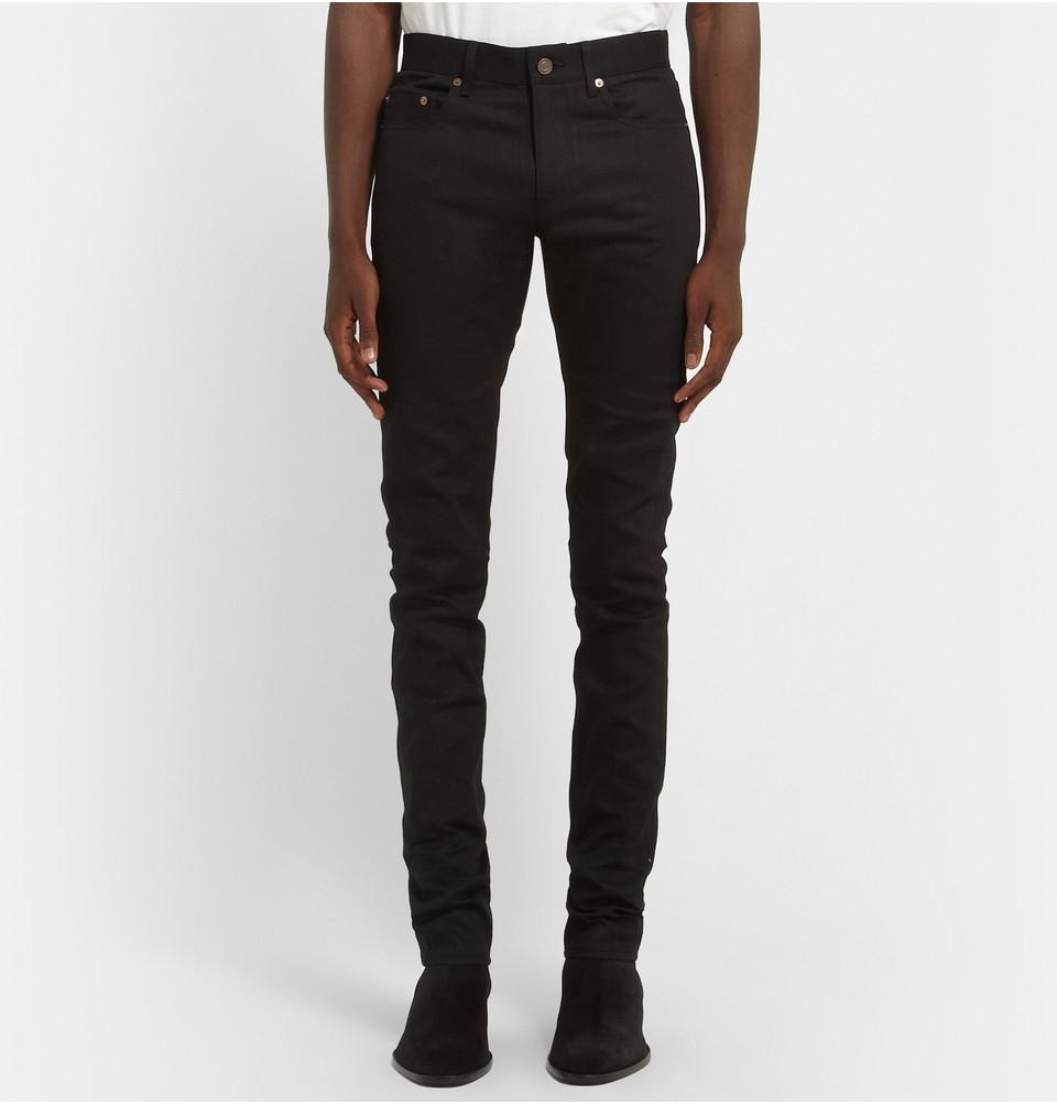 slim-fit jeans - Black Saint Laurent KvyQkdw2