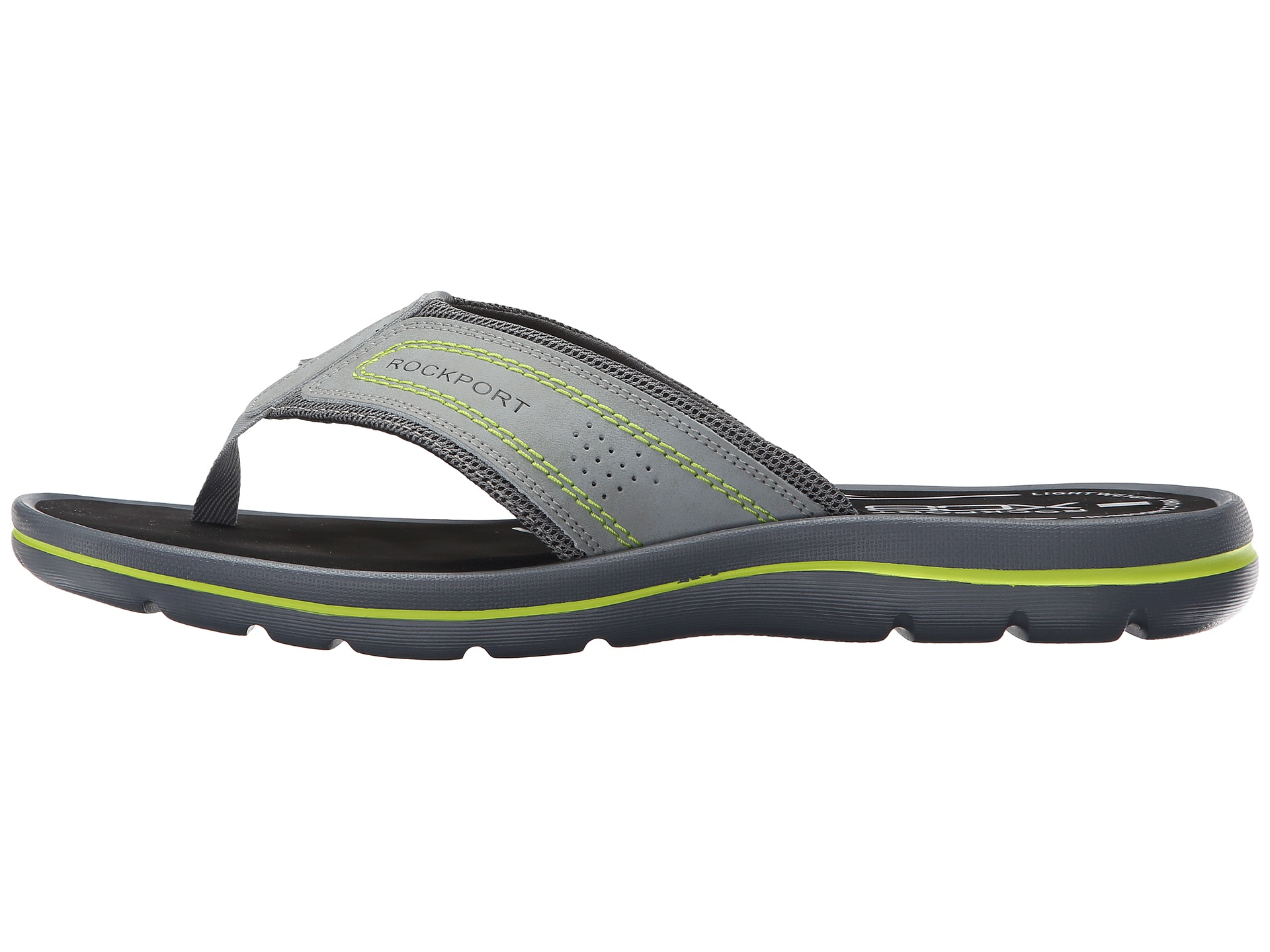 a470b6eab5f9 Lyst - Rockport Get Your Kicks Sandals Thong in Green for Men