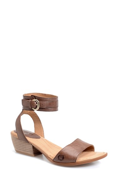 1775a85c708 Lyst - Born  beyer  Ankle Cuff Sandal in Purple