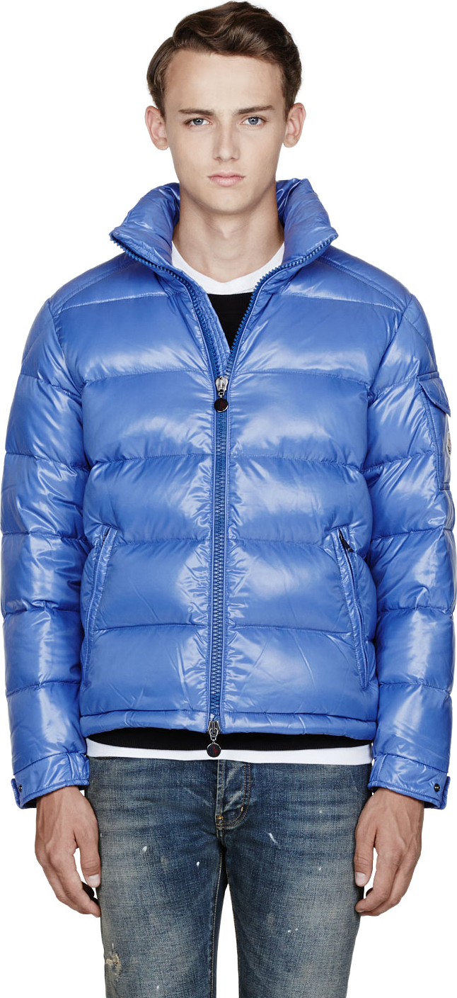 moncler maya light blue