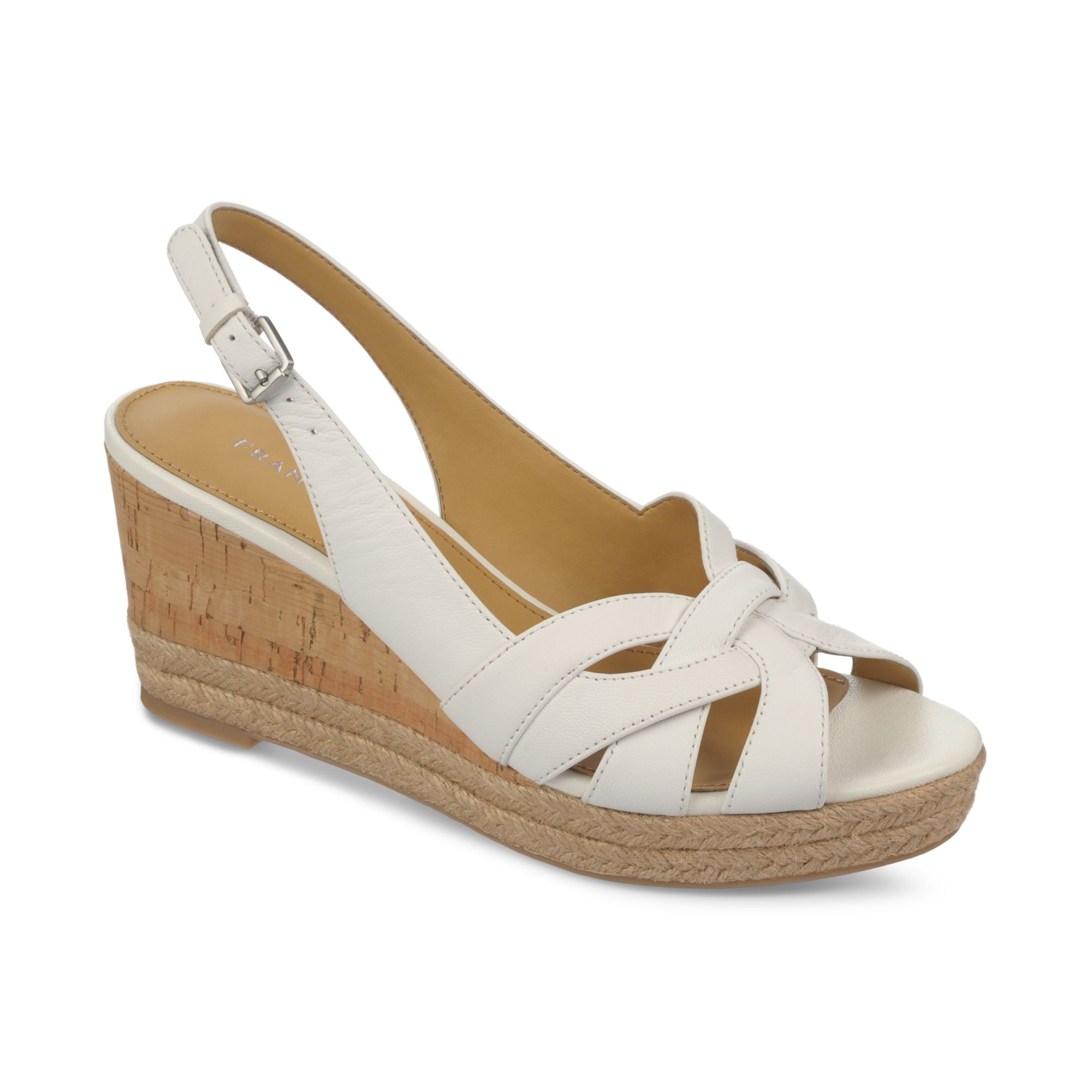 Lyst Franco Sarto Kris Platform Wedge Espadrille Sandals