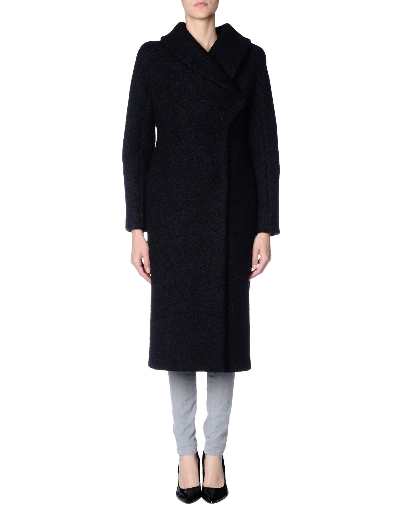 Lyst Gucci Coat In Black