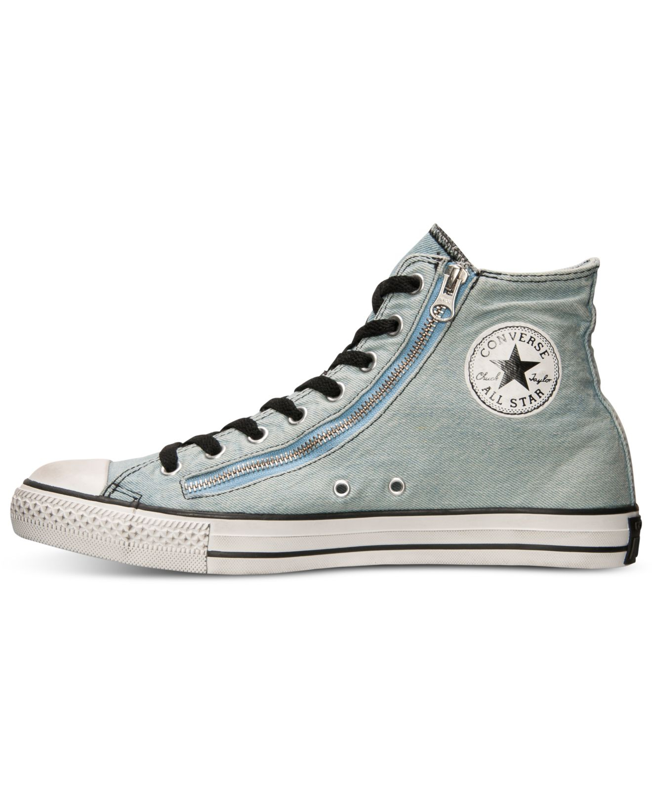 688c821642b6 Lyst - Converse Men S Chuck Taylor All Star Double Zip Casual ...