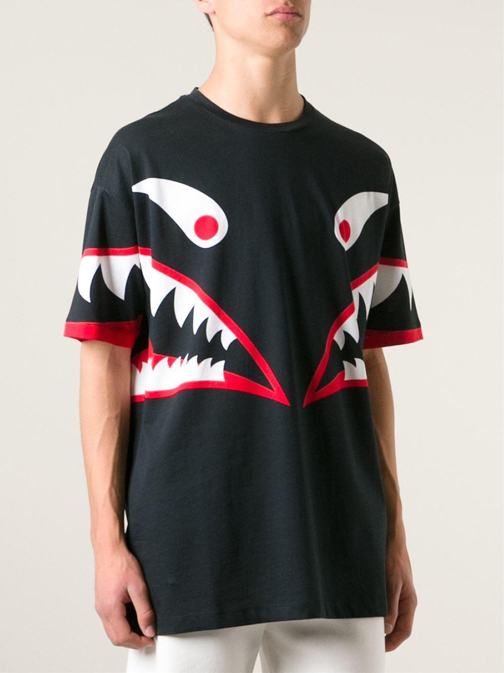 Lyst Love Moschino Monster Print T Shirt In Black For Men