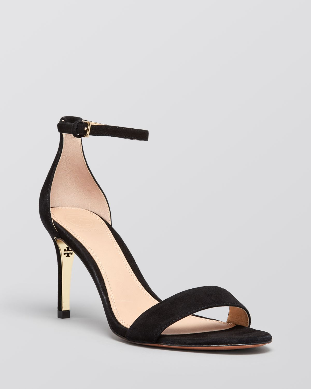 b069e5d05 Tory Burch Ankle Strap Sandals - Keri High Heel in Black - Lyst
