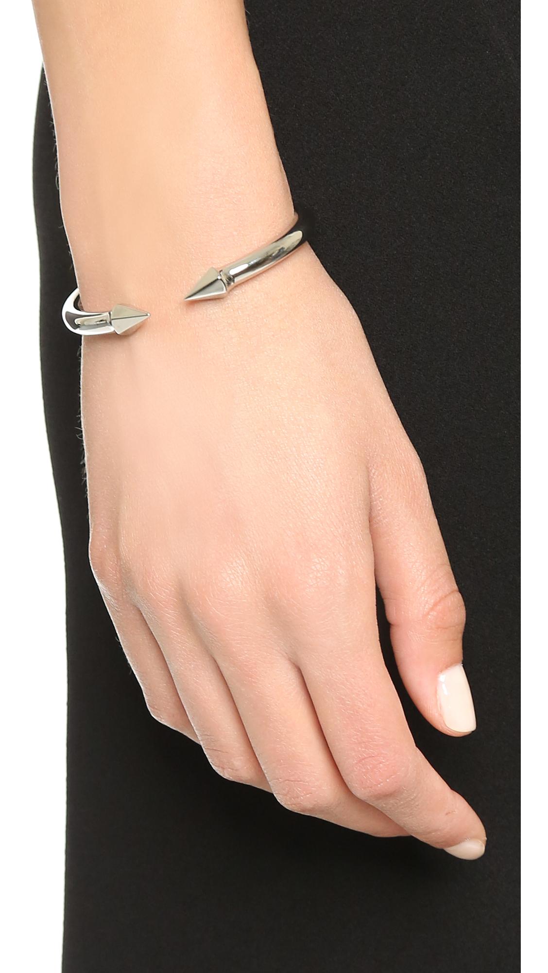 Vita Fede Mini Titan Hinged Crystal Bracelet sqQ2loP9