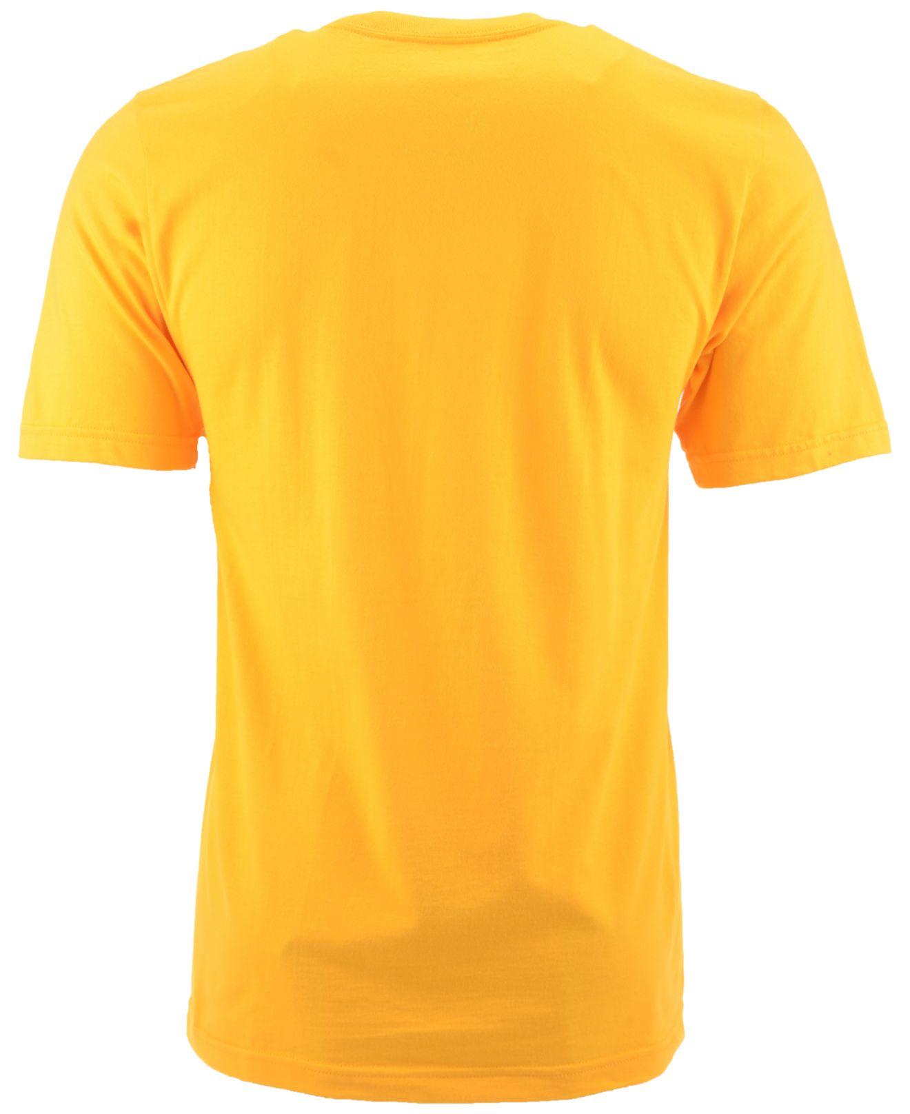 9d8fe5780 Lyst - Nike Men s Short-sleeve Wyoming Cowboys T-shirt in Metallic ...