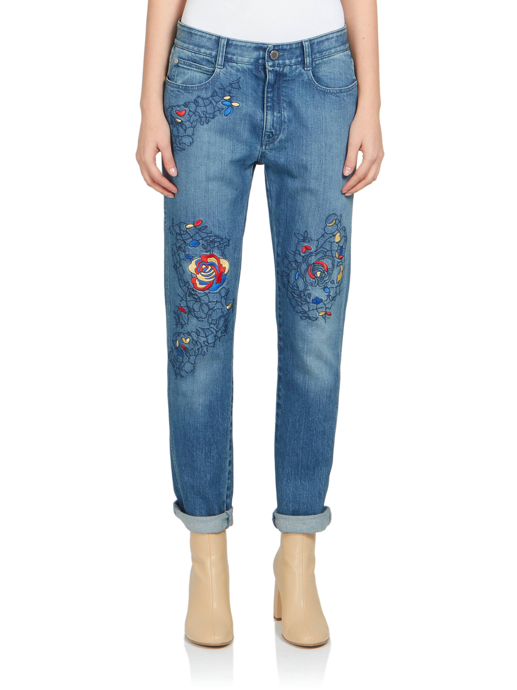 Embroidered jeans Stella McCartney zfiqSK