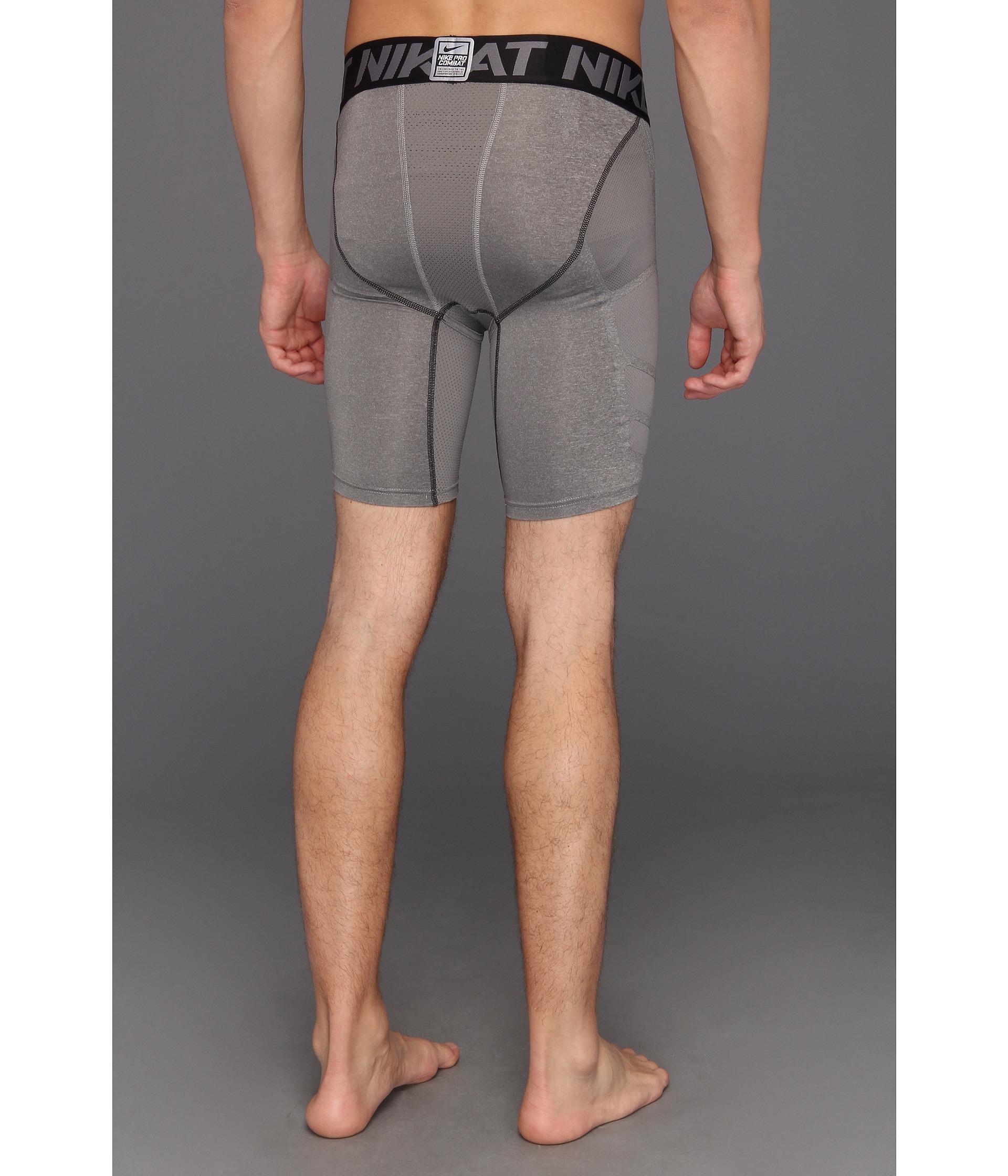 nike men's 9 inch compression shorts