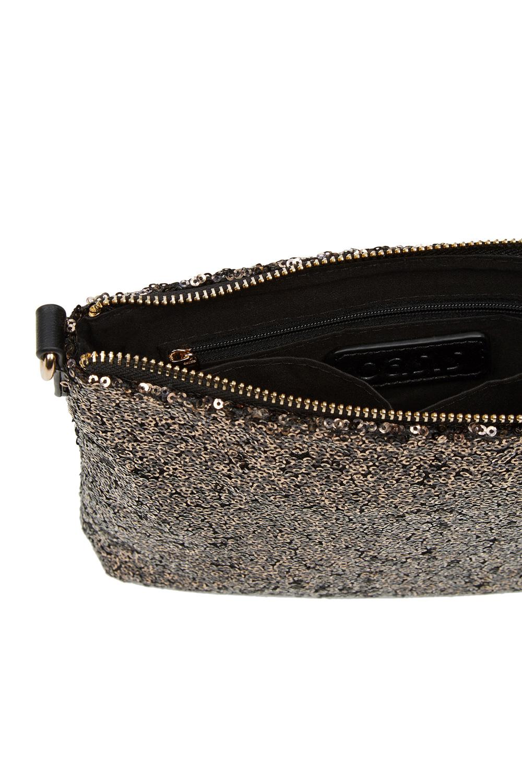 b67945374533 Oasis Gold Sequin Clutch Bag in Metallic - Lyst