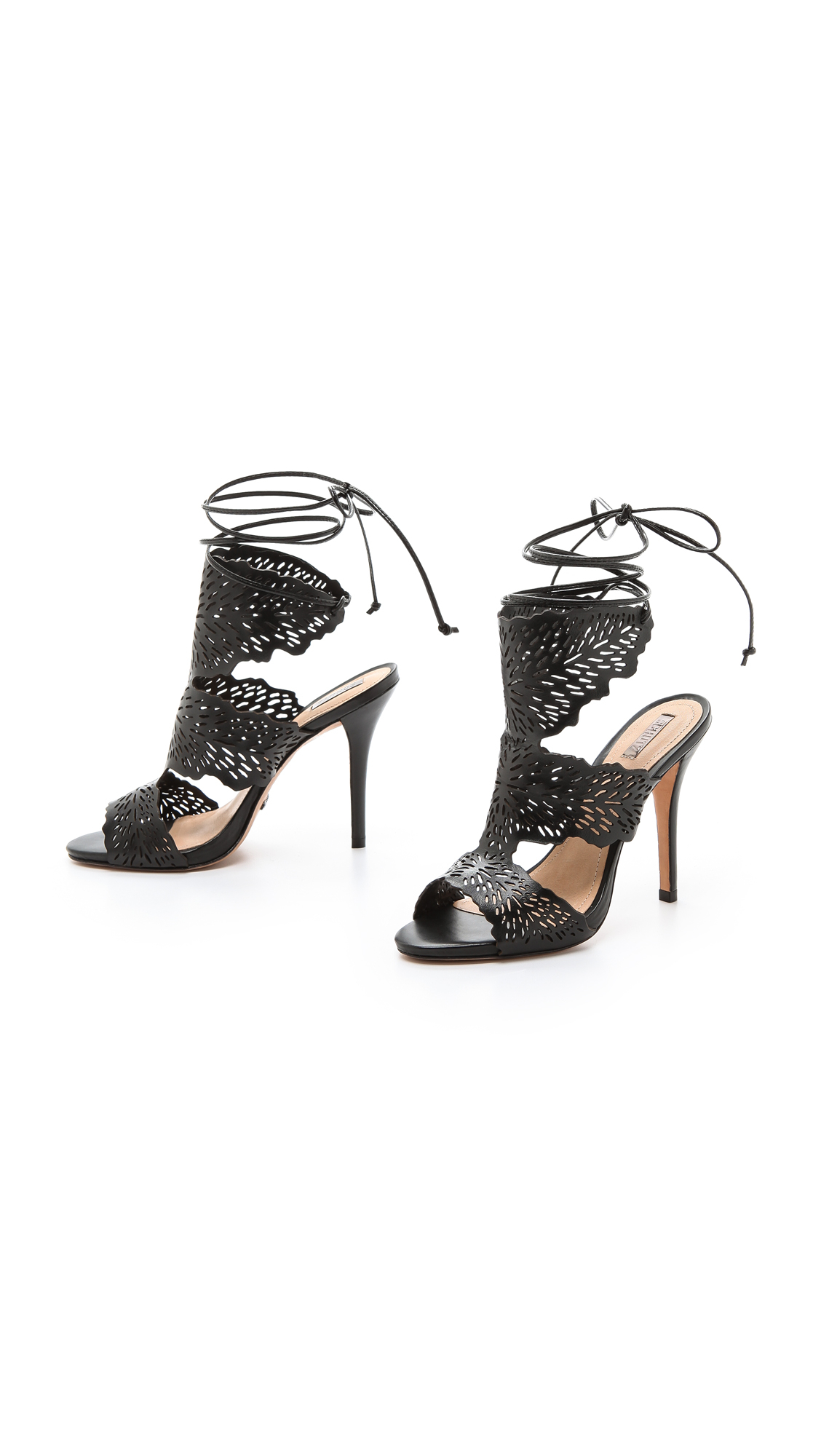 Schutz Laser cut sandals rgn8z