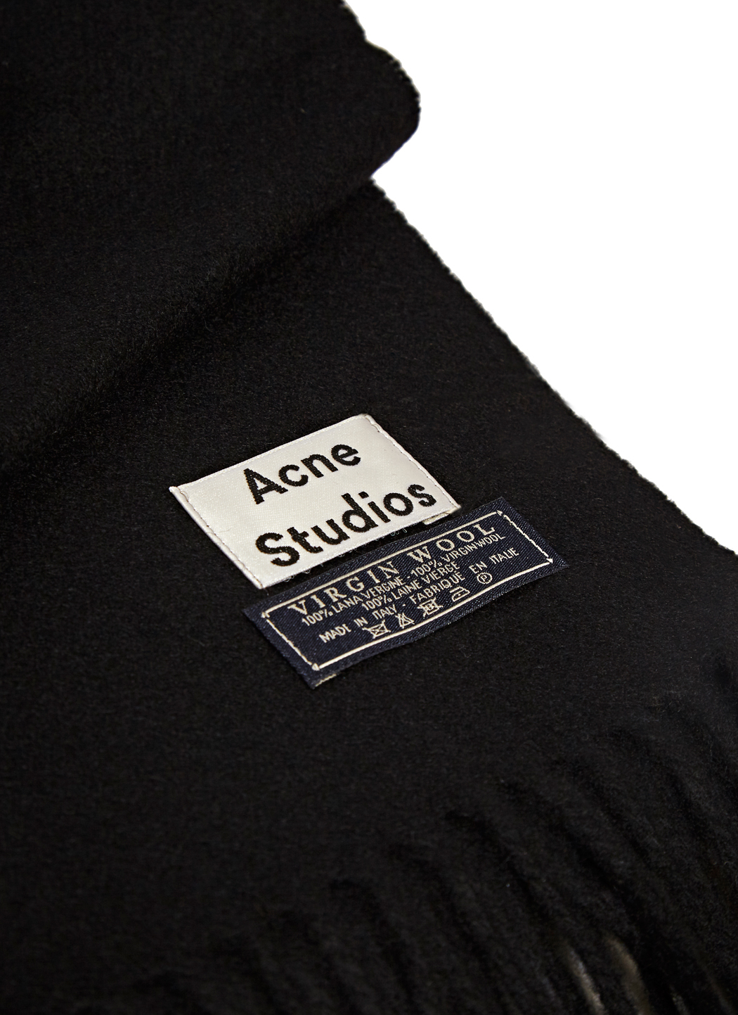 Acne Studios Väska : Lyst acne studios canada wool scarf in black for men