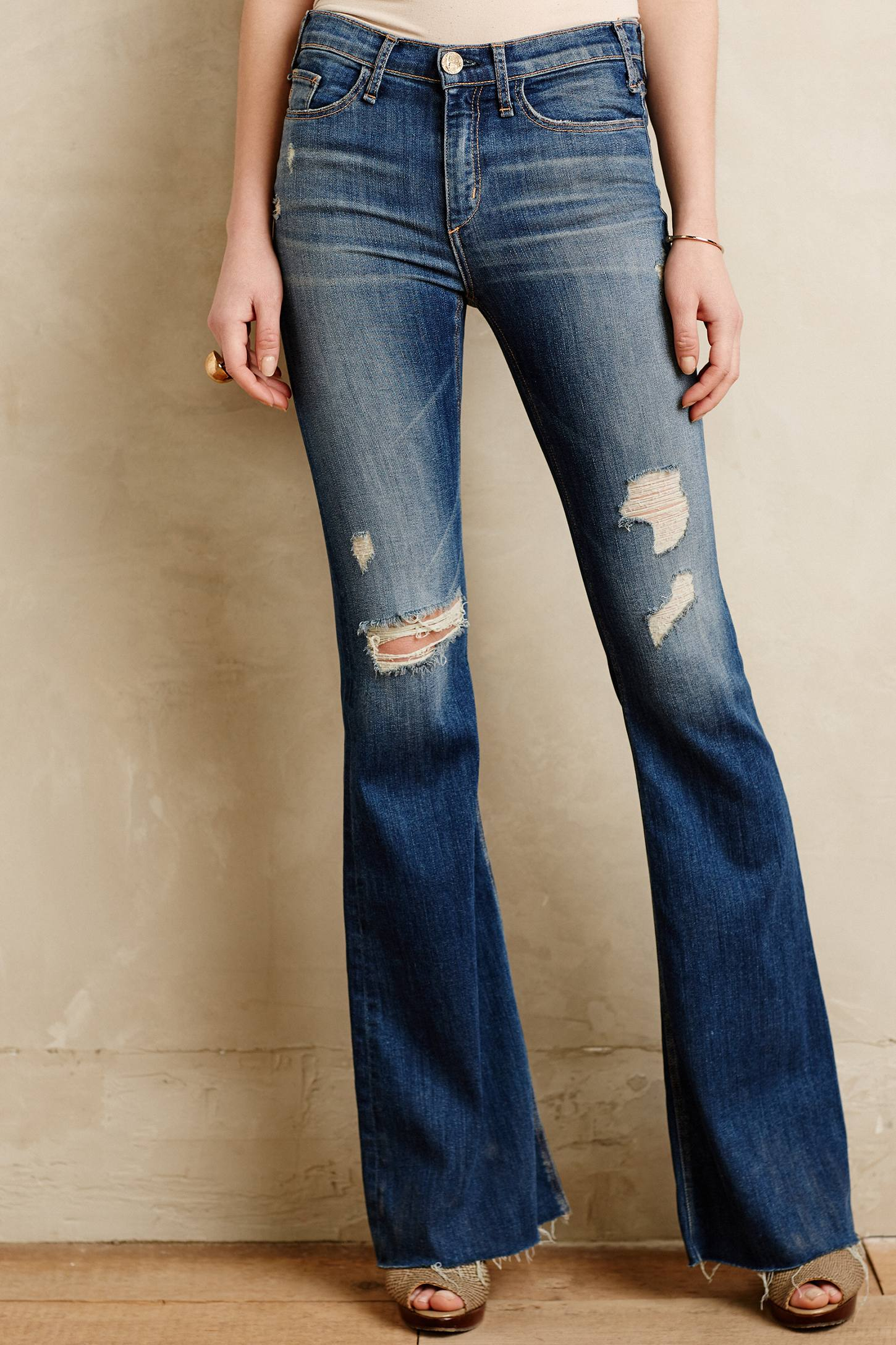 Mcguire Majorelle Flare Jeans in Blue | Lyst