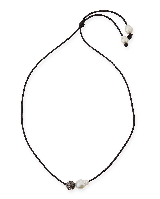 Margo Morrison Baroque Pearl Collar Necklace vsOKA99