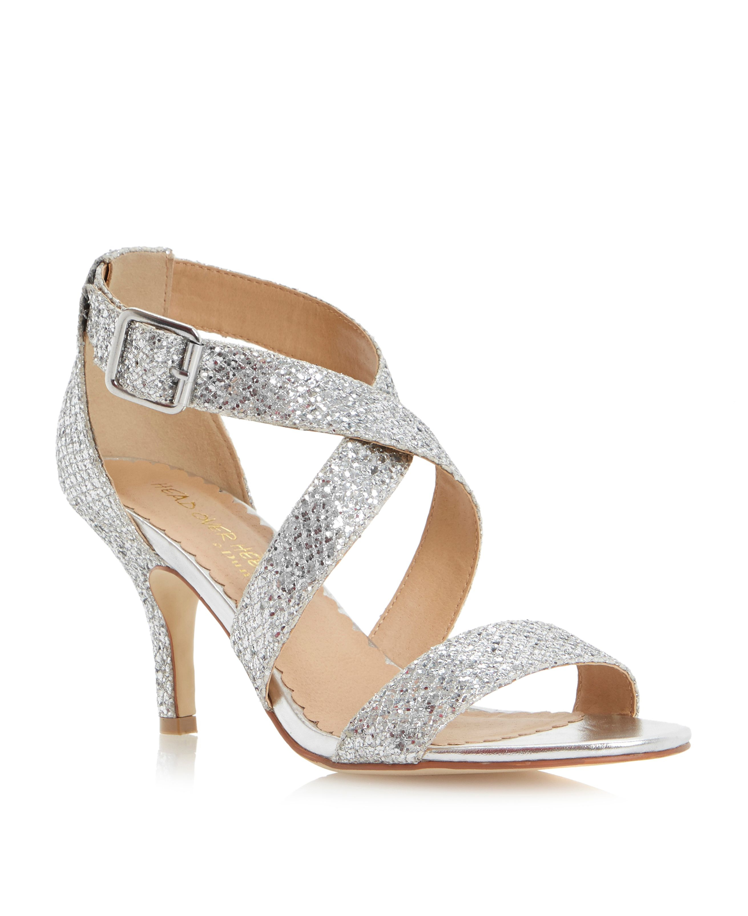 Dressy Silver Heels