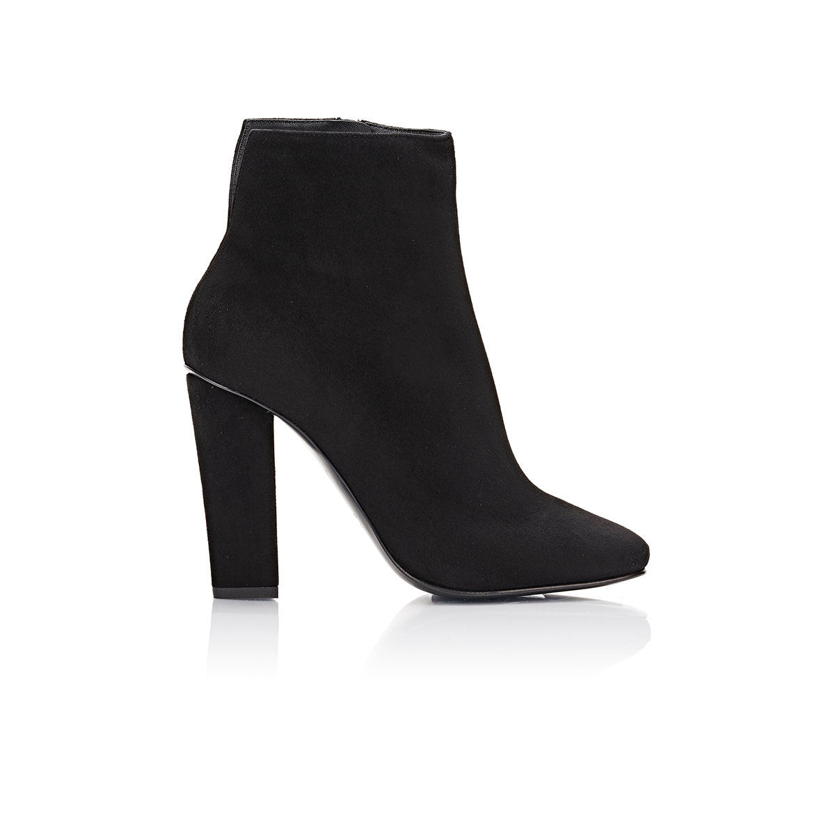 giuseppe zanotti s suede square toe ankle boots in