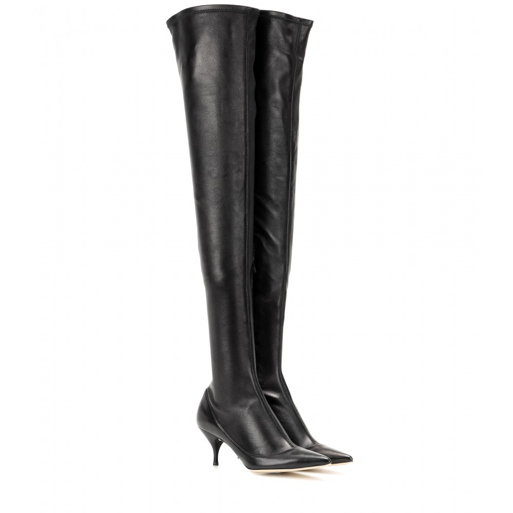 clearance store Nina Ricci Suede Over-The-Knee Boots marketable cheap online clearance fast delivery ZmO6xk5H
