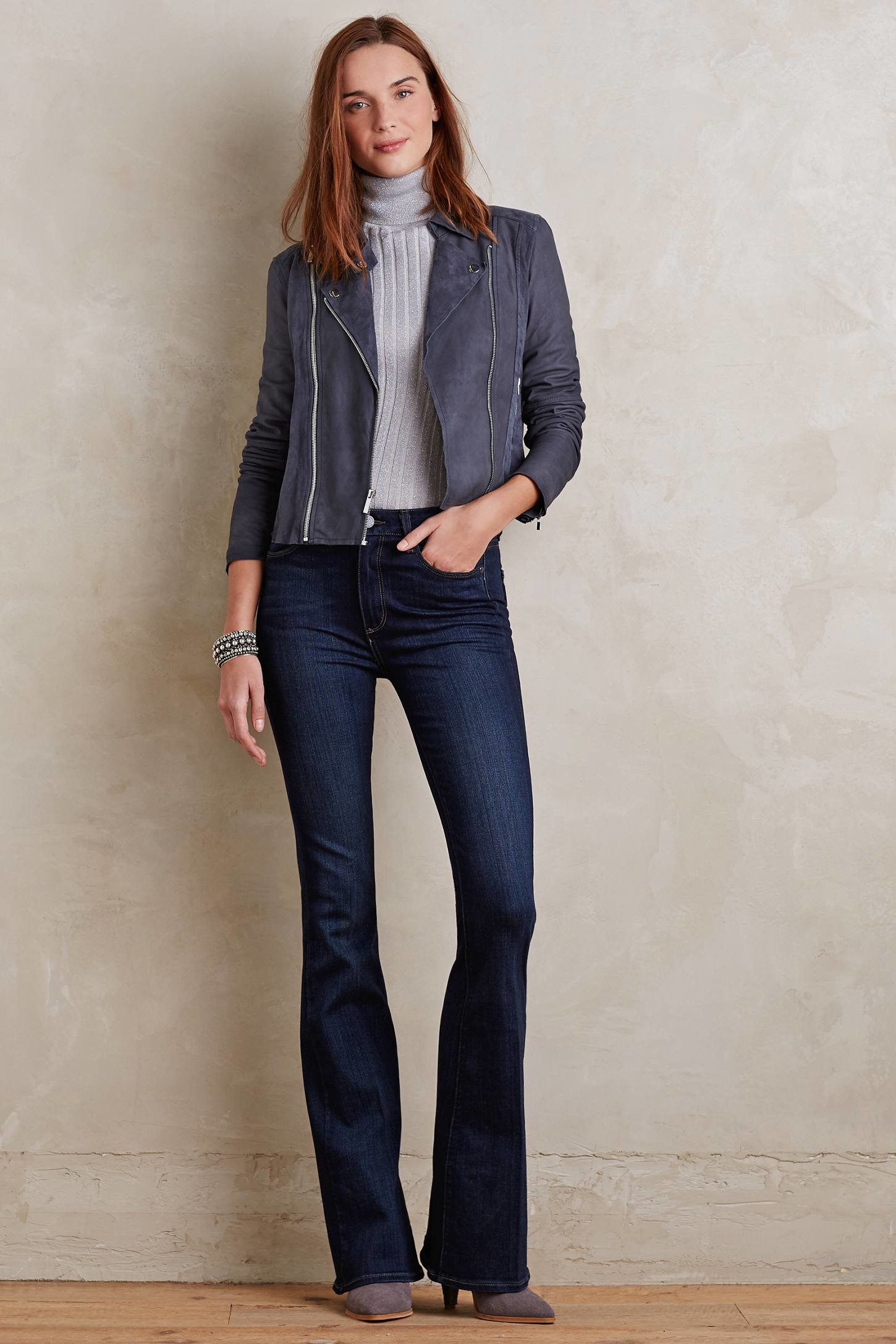 Paige High-rise Bell Canyon Flare Jeans in Blue   Lyst