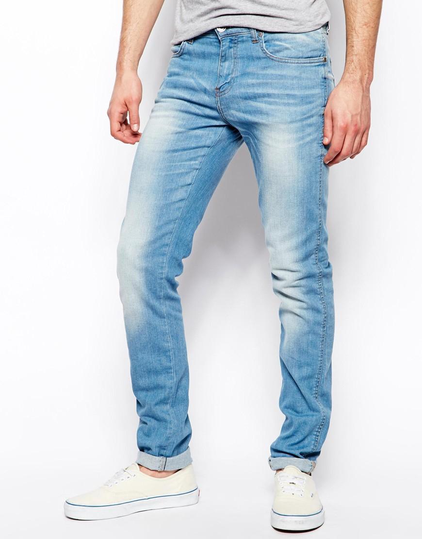 Dr. denim Jeans Snap Skinny Fit In Light Vintage Blue in Blue for ...