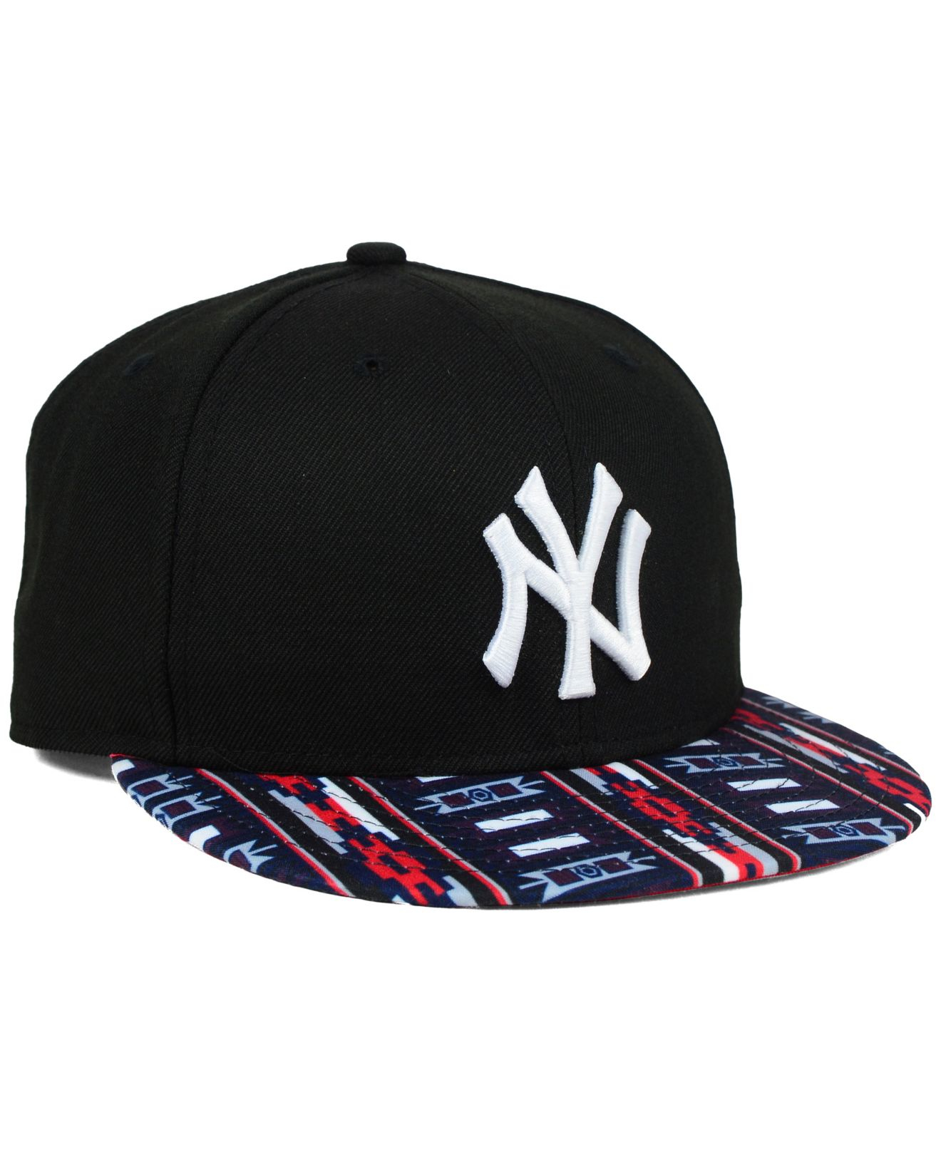 Ktz New York Yankees A Tech 9fifty Snapback Cap In Black