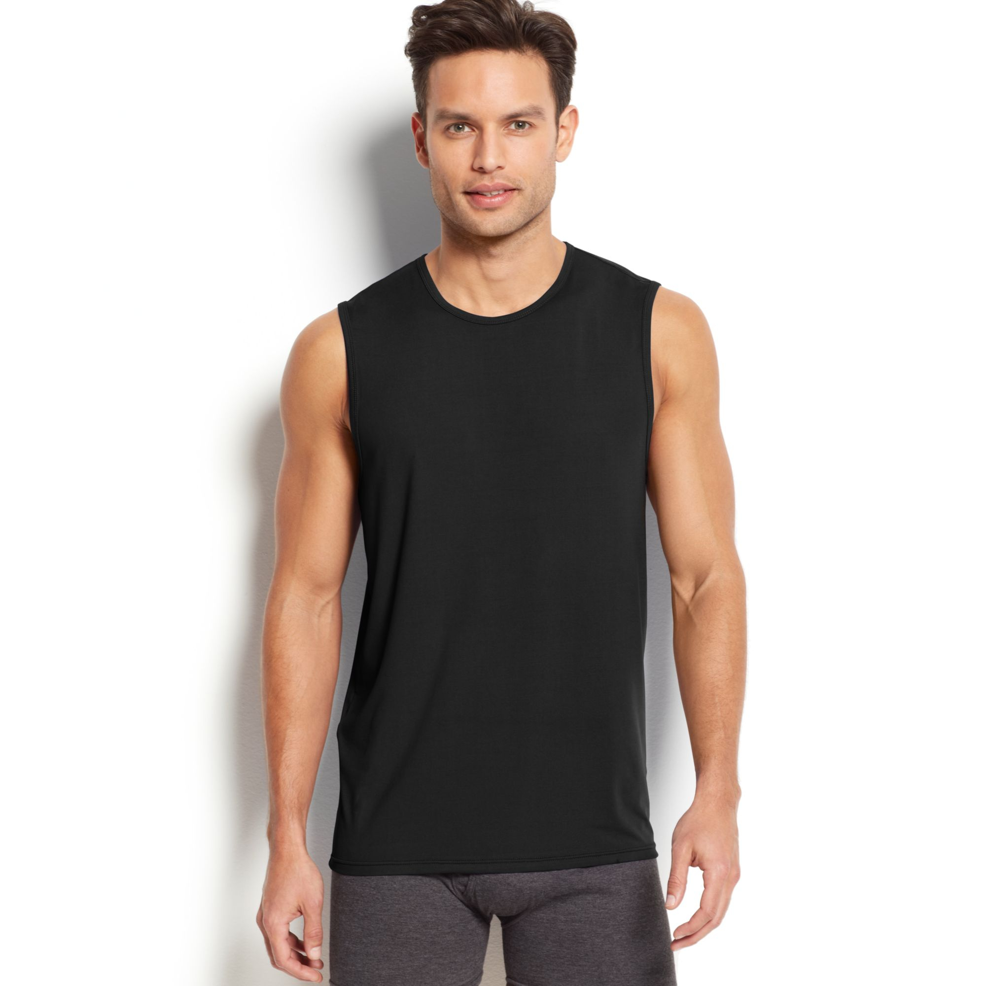 Shop Under Armour men's sleeveless t-shirts, tank tops, compression shirts, and muscle shirts to keep cool for your workout. FREE SHIPPING available in the US.