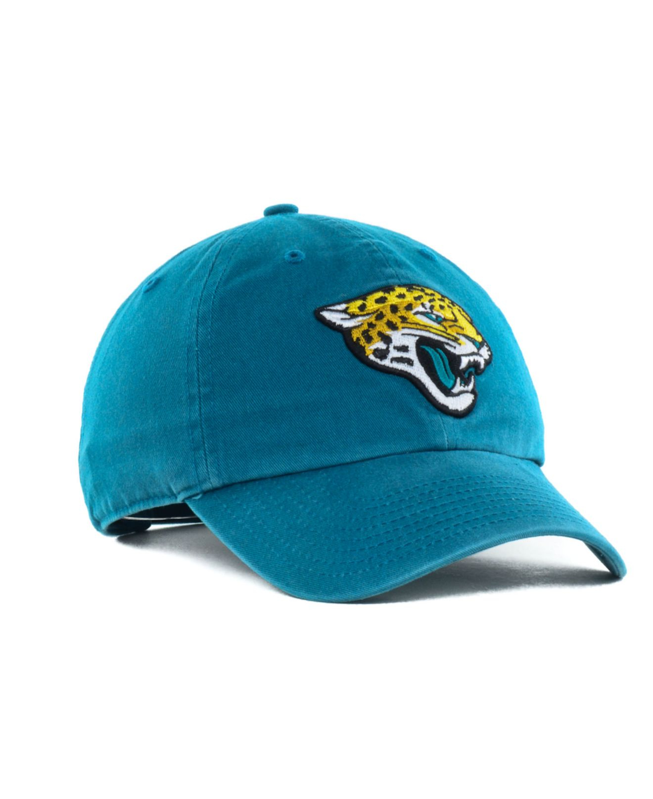 lyst 47 brand jacksonville jaguars clean up cap in blue. Black Bedroom Furniture Sets. Home Design Ideas