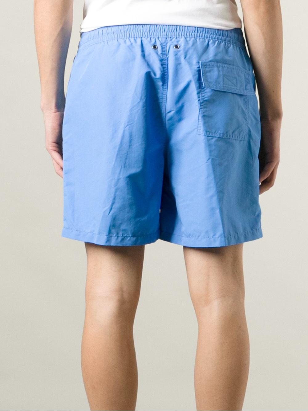 c0ea68a58a Polo Ralph Lauren Hawaiian Swim Shorts in Blue for Men - Lyst