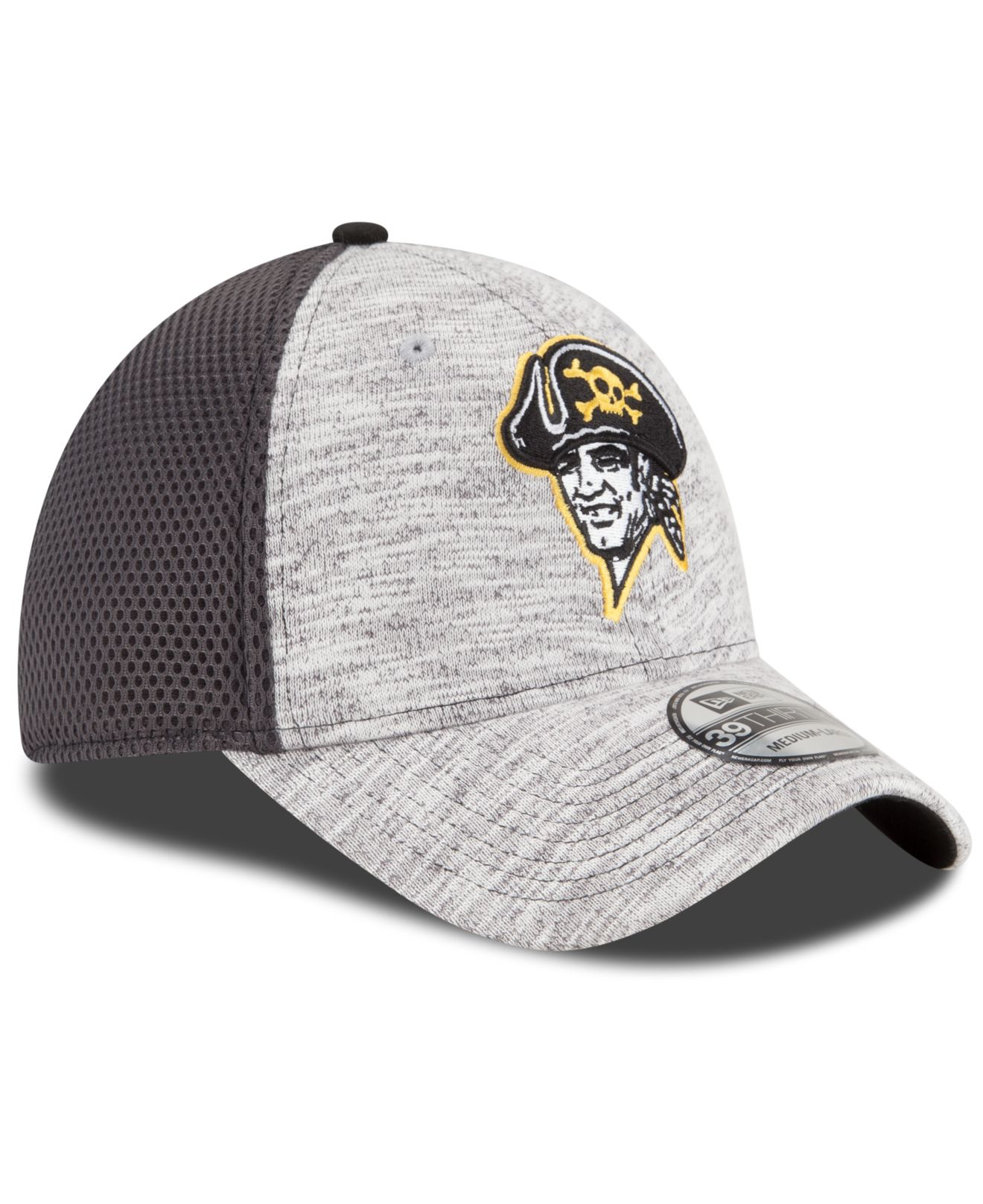 the latest 3333f 653cb ... netherlands lyst ktz pittsburgh pirates clubhouse 39thirty cap in gray  pretty cool 62d0b 93deb 52034 61c54