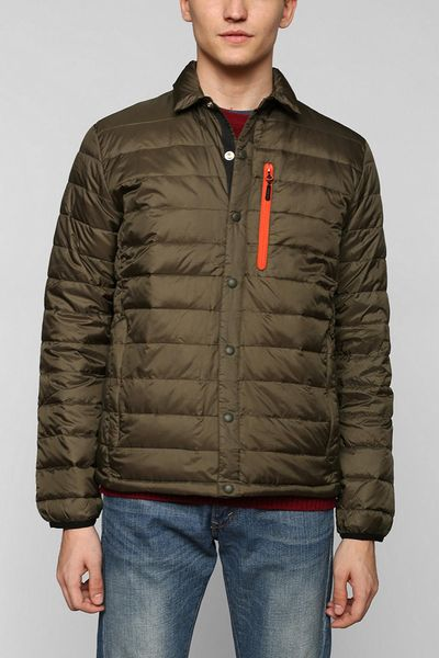 Urban Outfitters Penfield Naklin Packable Downfill Jacket In Green For Men | Lyst