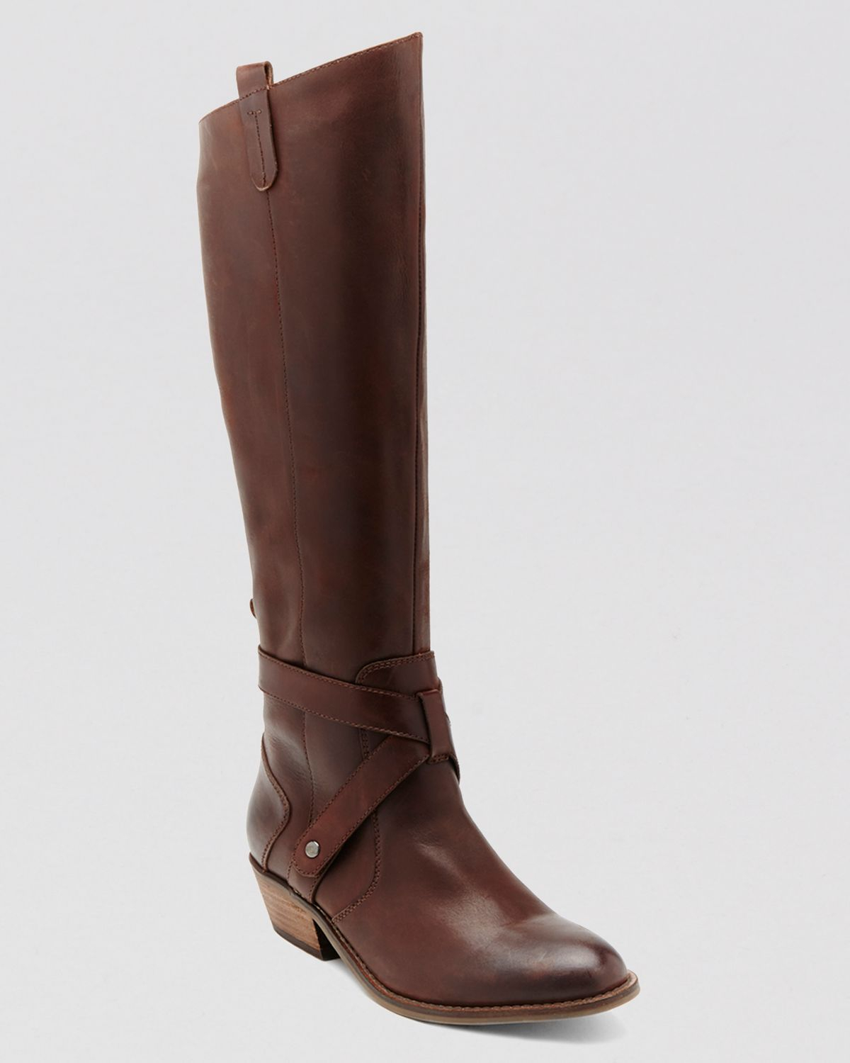 dv by dolce vita boots clinton in brown lyst