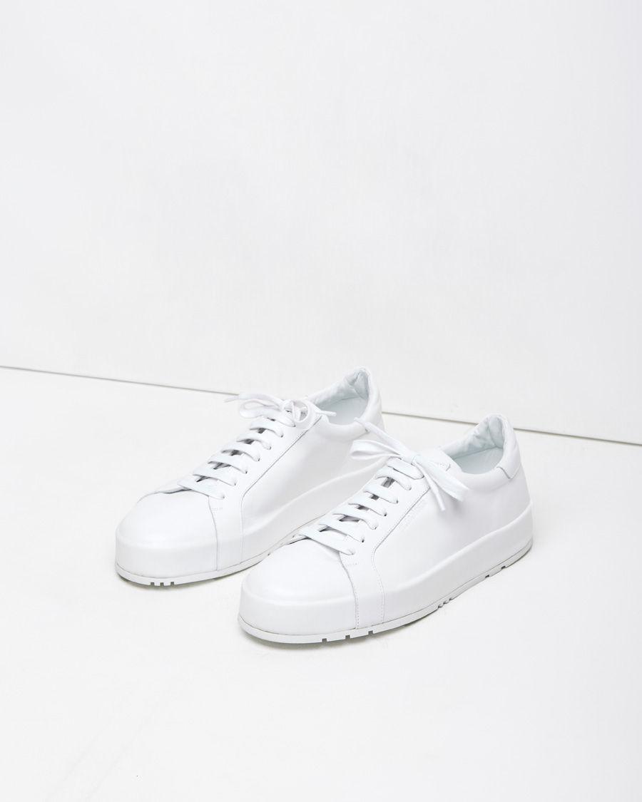 Leather sneakers Jil Sander Dj2XLjyT