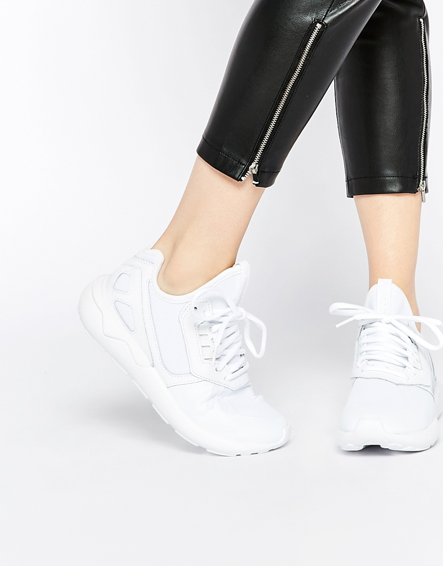 Adidas Originals WOMEN'S TUBULAR DEFIANT Off White