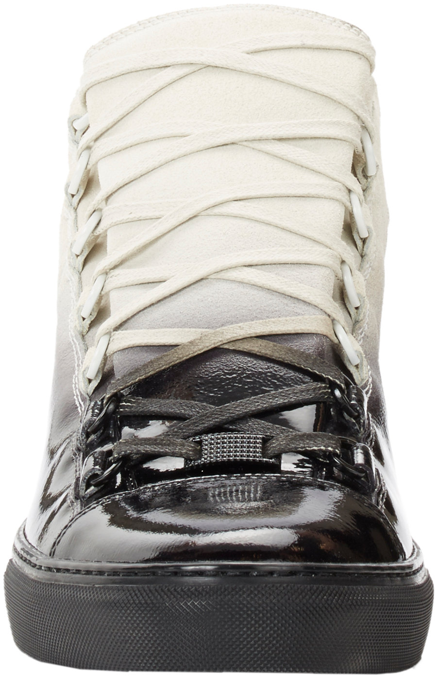 Rubber Rings For Men >> Balenciaga Ombré Arena High-Top Sneakers in Black for Men | Lyst
