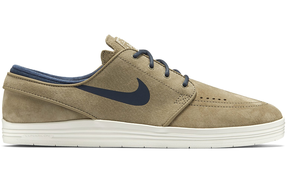nike sb lunar stefan janoski in natural for men lyst. Black Bedroom Furniture Sets. Home Design Ideas