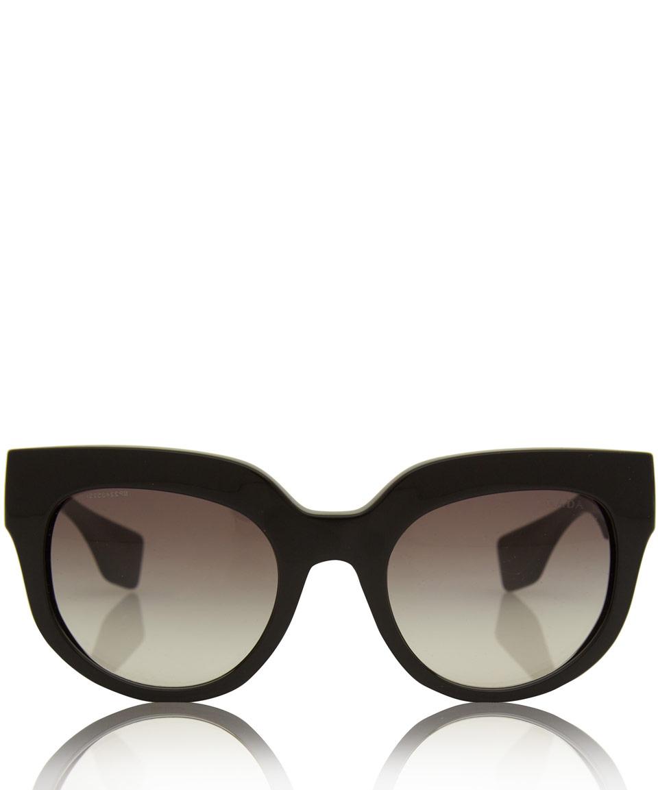 4b4b05bb8c8c Sunglasses Poeme Black Lyst In Prada Acetate aEOWEwIq
