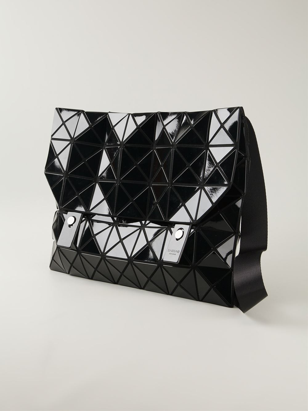 1ebf03f8bd Lyst - Bao Bao Issey Miyake Rock Basic Shoulder Bag in Black