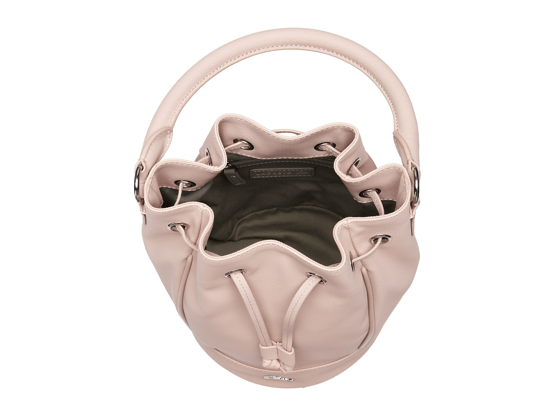 a35e51170d60c1 Lyst - Lacoste Daily Classic Bucket Bag in Pink