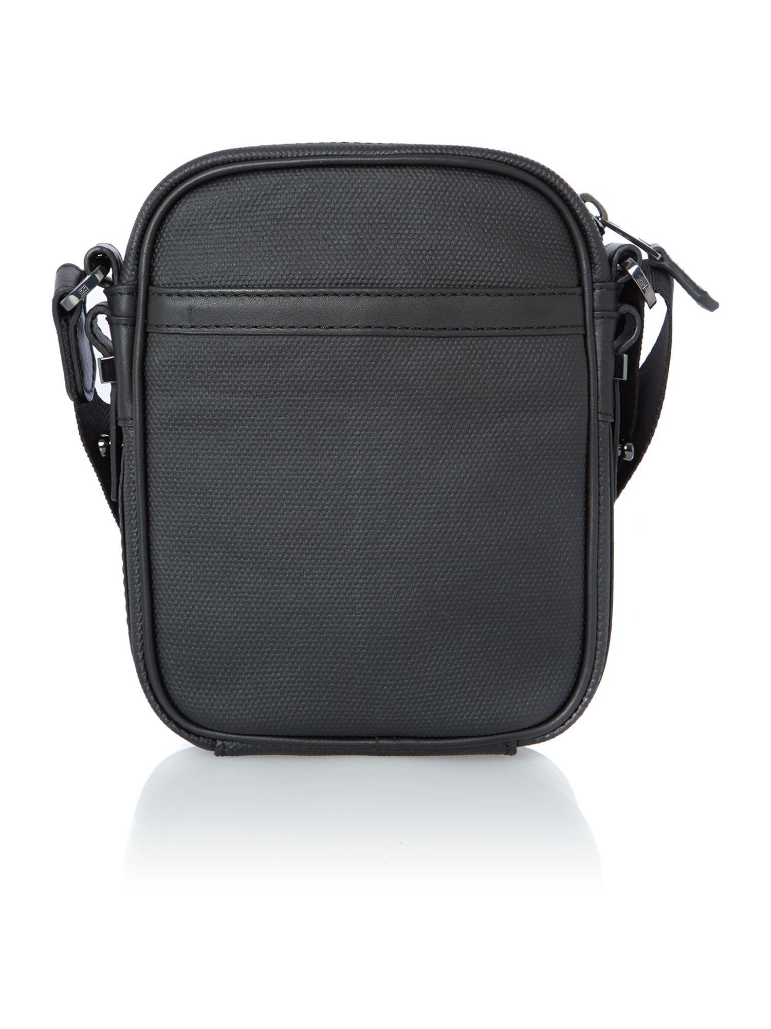 Tommy hilfiger Walker Mini Reporter Bag in Black for Men   Lyst